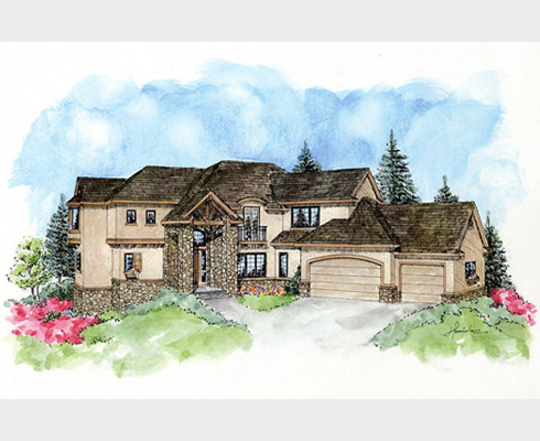 Rendering for Castle Pines Marketing
